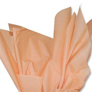 Colored Tissue Paper Peach Ne 190 480 Sheets Per Ream Color Tissue Paper Paper Peach Tissue Paper