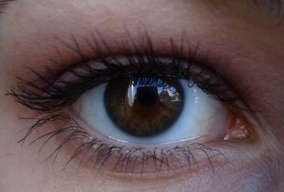 True Winter eye 1. A dark and cool brown