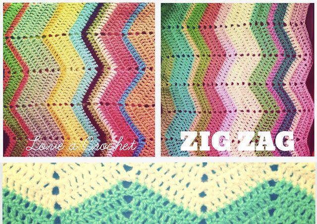 For My Girl Nina Crochet Zig Zag And More Crochet Pinterest