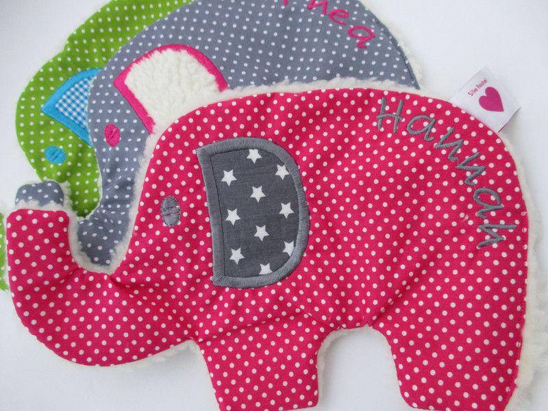 Weiteres - Knistertuch Elefant  - ein Designerstück von von-Eulen-und-Lerchen bei DaWanda