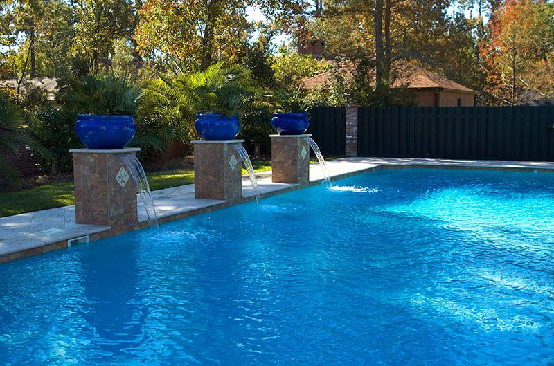 Spanish Style Water Feature For Pool Google Search Pool Pinterest Water Features Pool