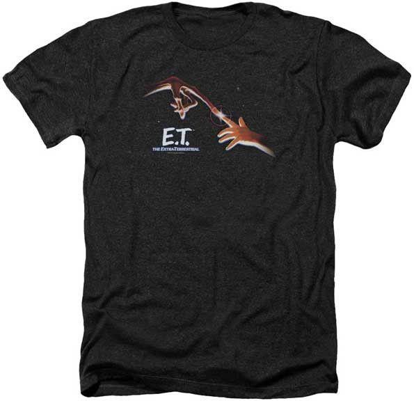 Mens E.T. Poster Heathered Tee Shirt