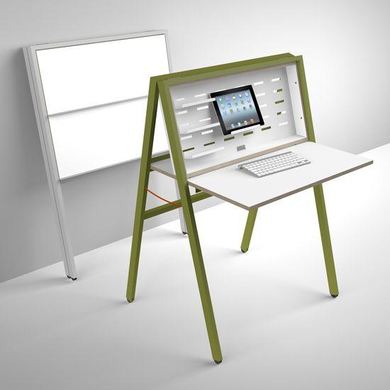 iidee Design+Interior Berlin, HIDEsk: Klappbarer Schreibtisch für ...
