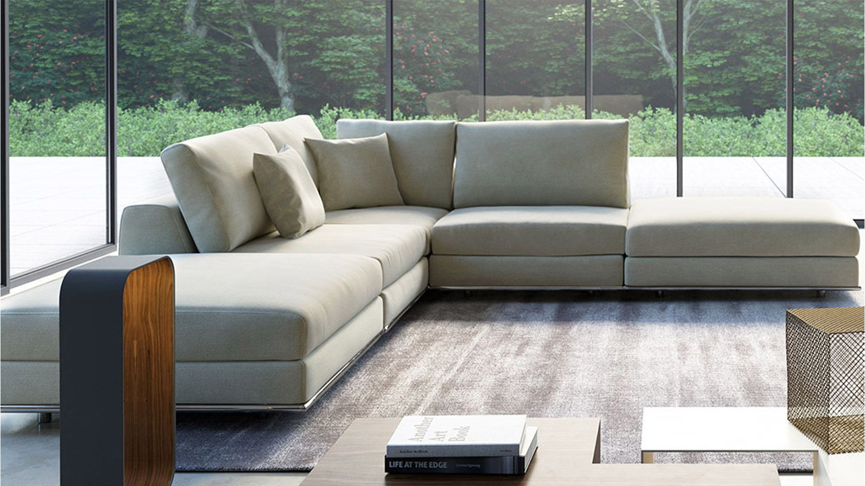 Cool Armless Sectional Sofa Unique 22 On Contemporary Inspiration With. Neoteric  Oversized ...