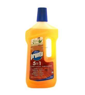 Pronto limpiador jabonoso para madera parquet 3 10 tienda productos - Productos para parquet ...