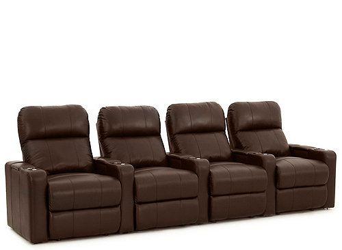 Astounding Marquee 4 Pc Power Reclining Sectional Basement Home Machost Co Dining Chair Design Ideas Machostcouk
