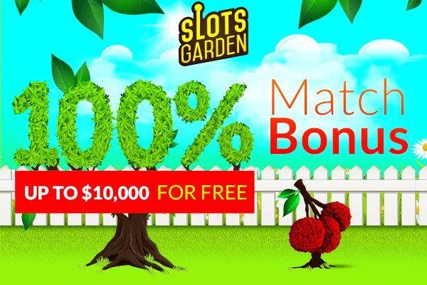 slots garden 20 no deposit free chip welcome bonus - Slots Garden Casino