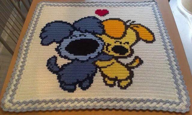Woezel En Pip Boxkleed Crocheting Crochet Baby Blanket Crochet