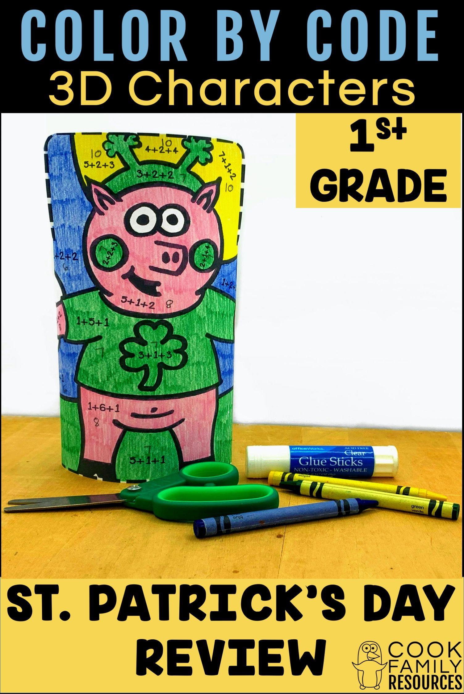 First Grade Math Practice