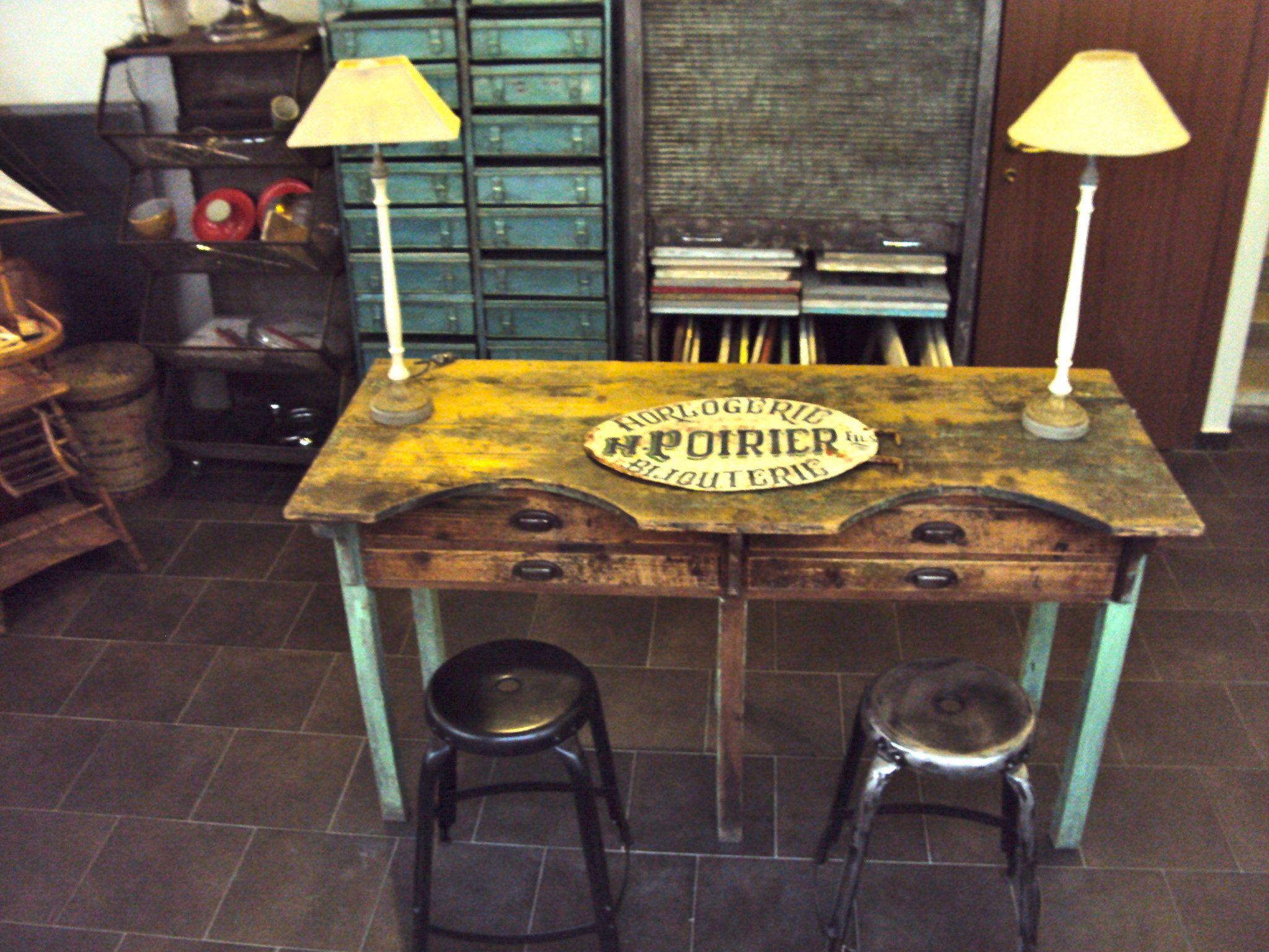 Tavoli Da Lavoro Vintage : Tavolo da lavoro arredamento mobili e accessori per la