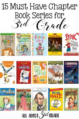 15 Must Have Chapter Book Series For 3rd Grade Students Www
