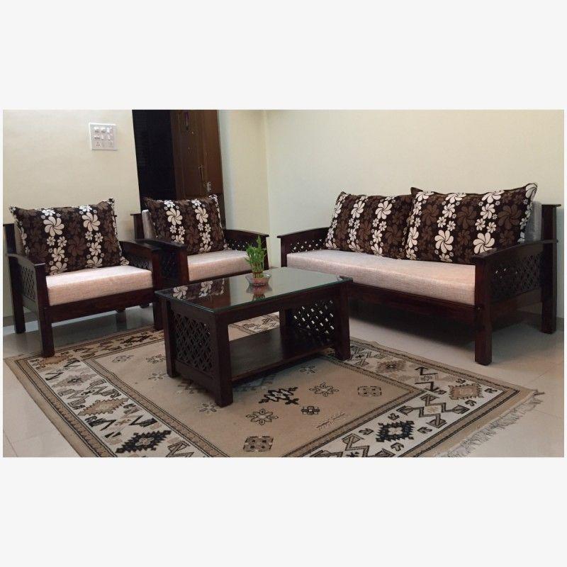 Wooden sofa set LOTUS. Wooden furniture online | Wooden ...