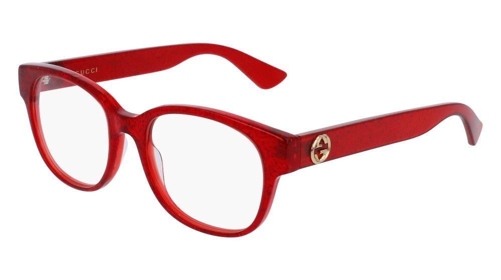 00d137a62e Gucci GG0040O 004 Red Eyeglasses