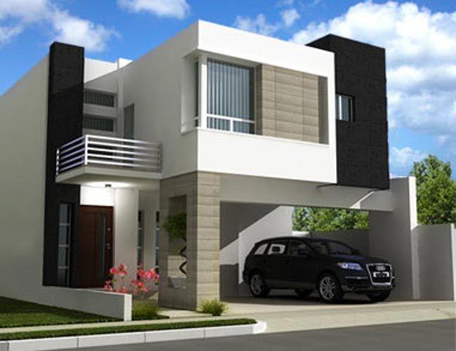 38 casas modernas para inspirar casas geometricas pinterest moderne h user architektur. Black Bedroom Furniture Sets. Home Design Ideas