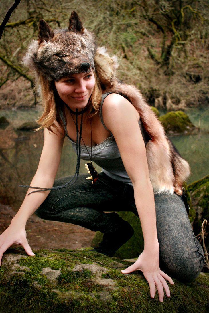 Silver Coyote Headdress III by NaturePunk on DeviantArt