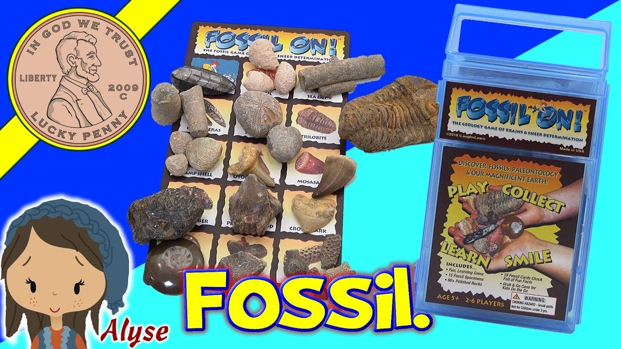 Fossil On! Game For Paleontology & Our Magnificent Earth