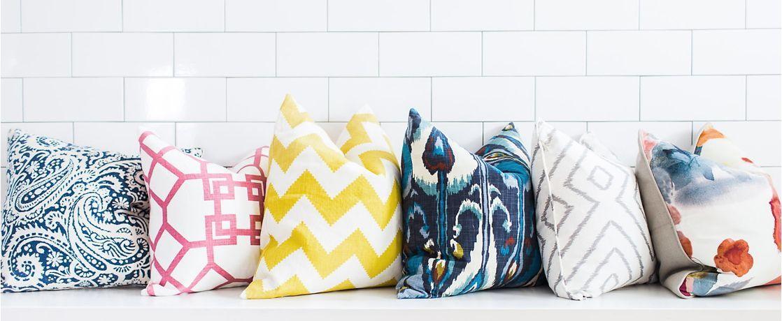 Pick a pillow, Any Pillow loomdecor interiordesign