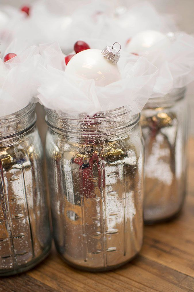 diy christmas party favor jars christmasgiftideas christmasfavors