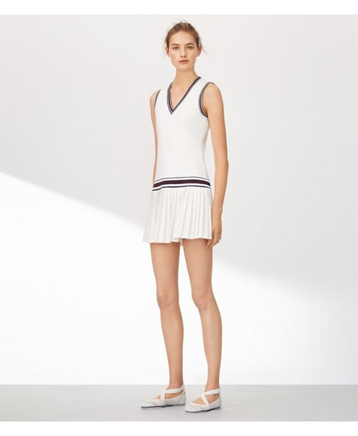 6fd43d301e7a Tory Burch - Tory Sport V-neck Tennis Dress