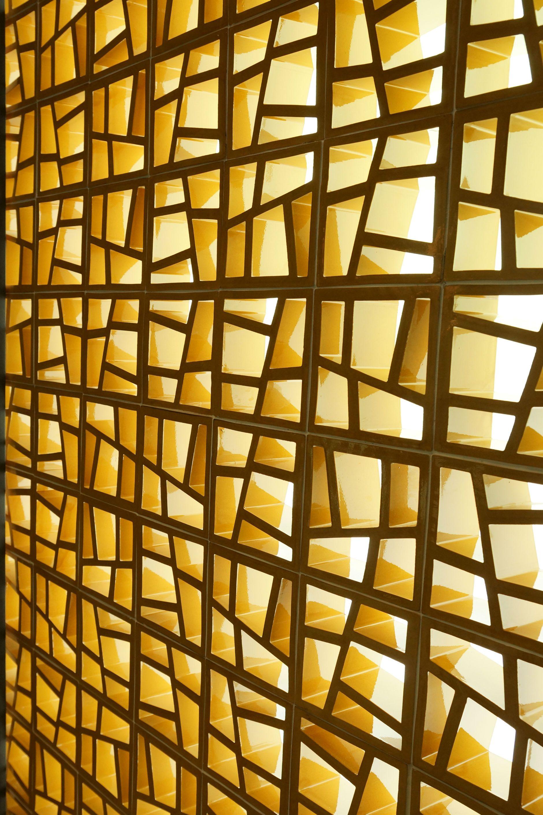 celosía ceramica modelo trencadís www.ceramicabosch.com | CERAMIC ...