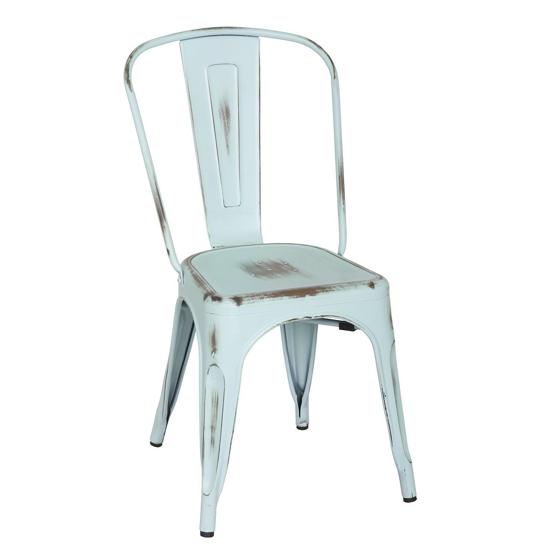Sillas vintage el rinc 243 n di ree - Cadeira Vintage Em A O Desgastado Dispon Vel Em Tr S Cores Estilo Industrial