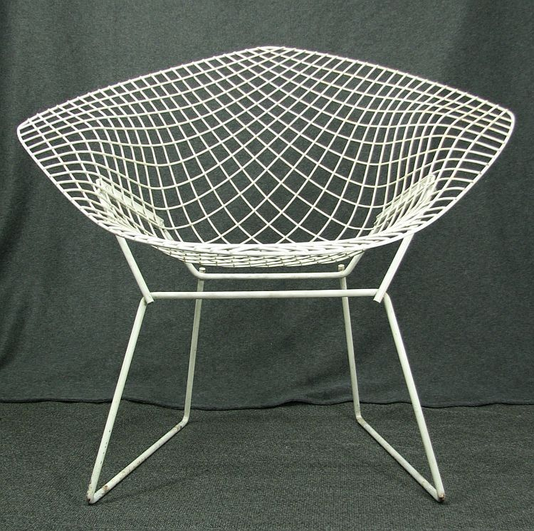 Great HARRY BERTOIA DIAMOND CHAIR VINTAGE MID CENTURY EAMES ERA From Etsy