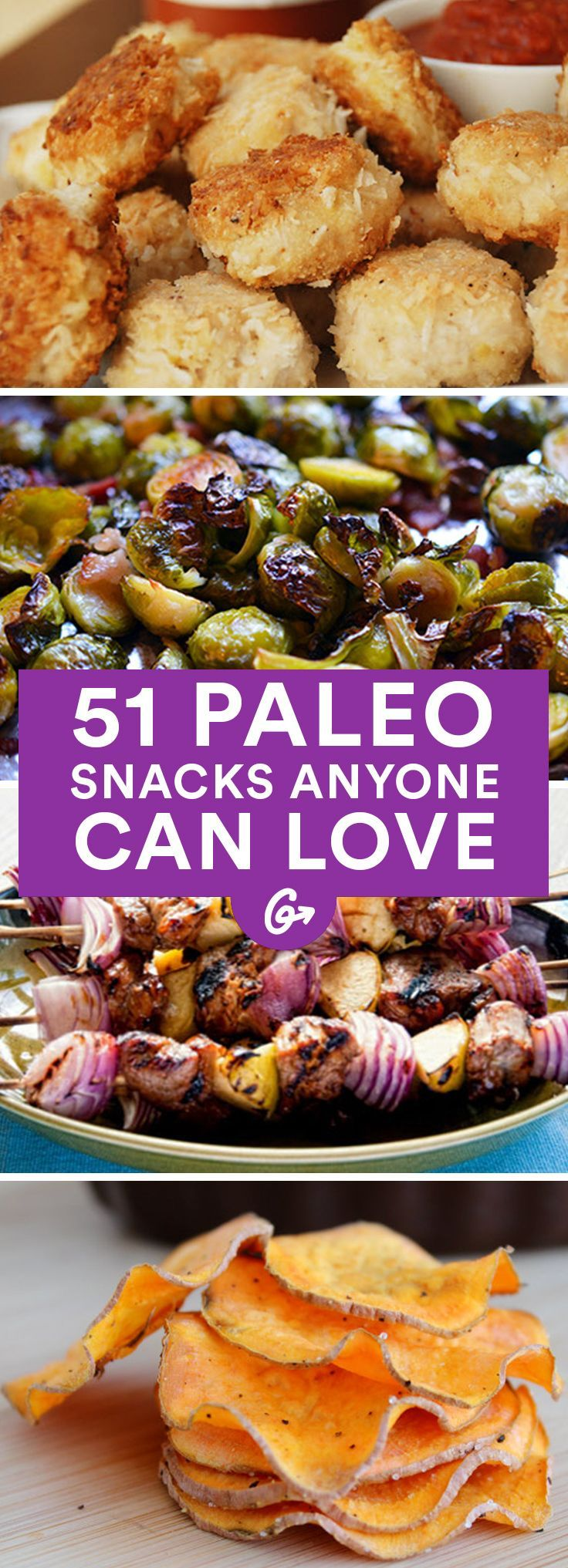 Paleo eaters may shun grains, processed vegetable oils, and refined sugars, but that doesnt stop them from enjoying plenty of delicious dishes #paleo #snacks http://greatist.com/health/paleo-recipes-list