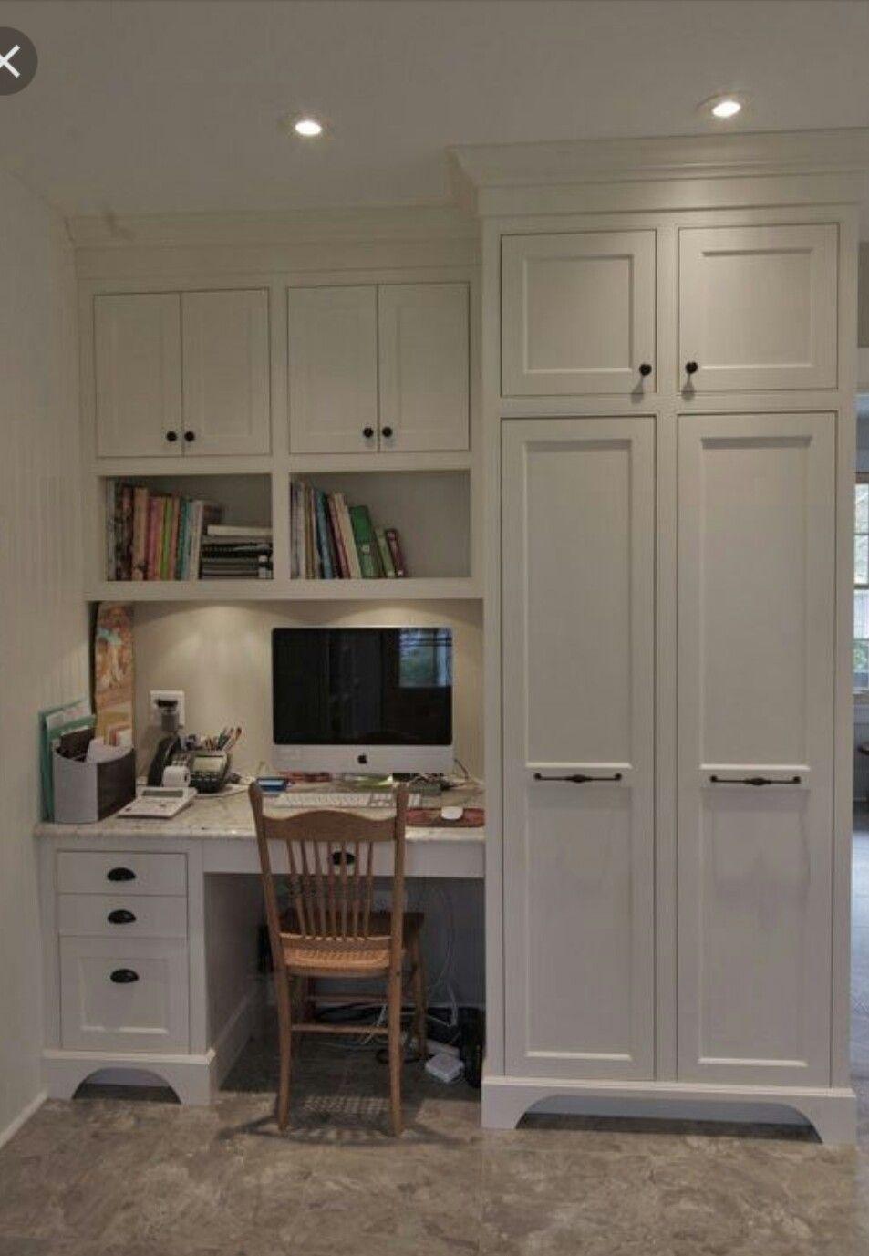 Mudroom Office Home Office Design Built In Desk Kitchen Desks