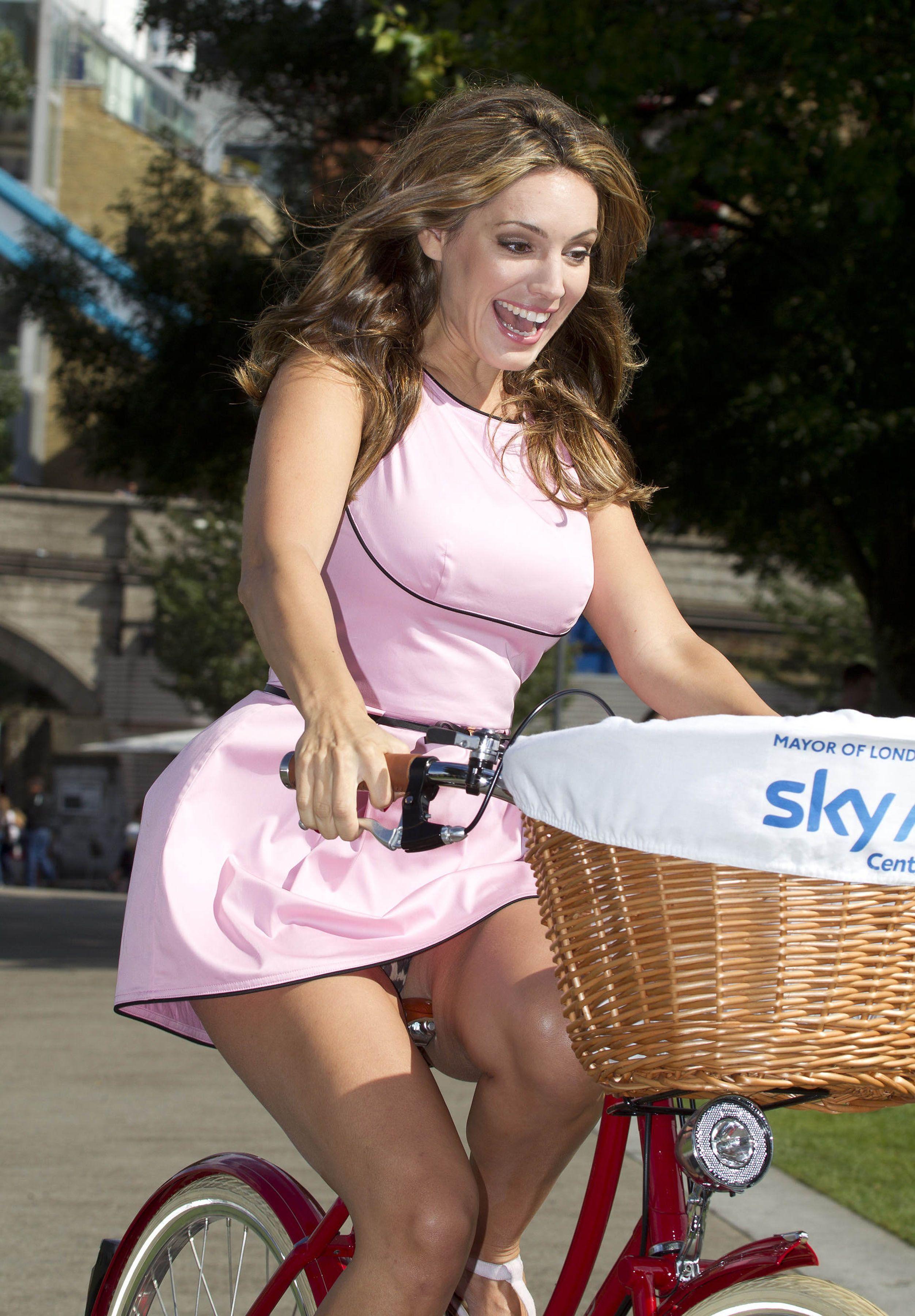 Upskirt Girls Riding Bikes With Skirts  Hot Girl Hd Wallpaper-5986
