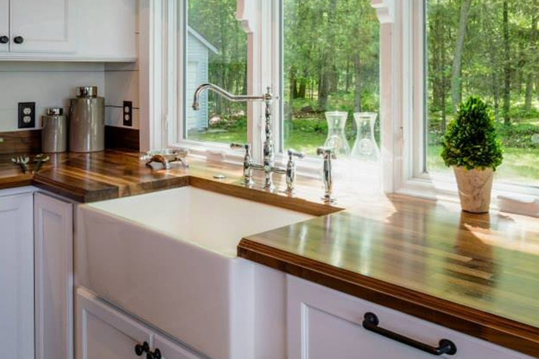 A Beautiful Michigan Maple Block Countertop