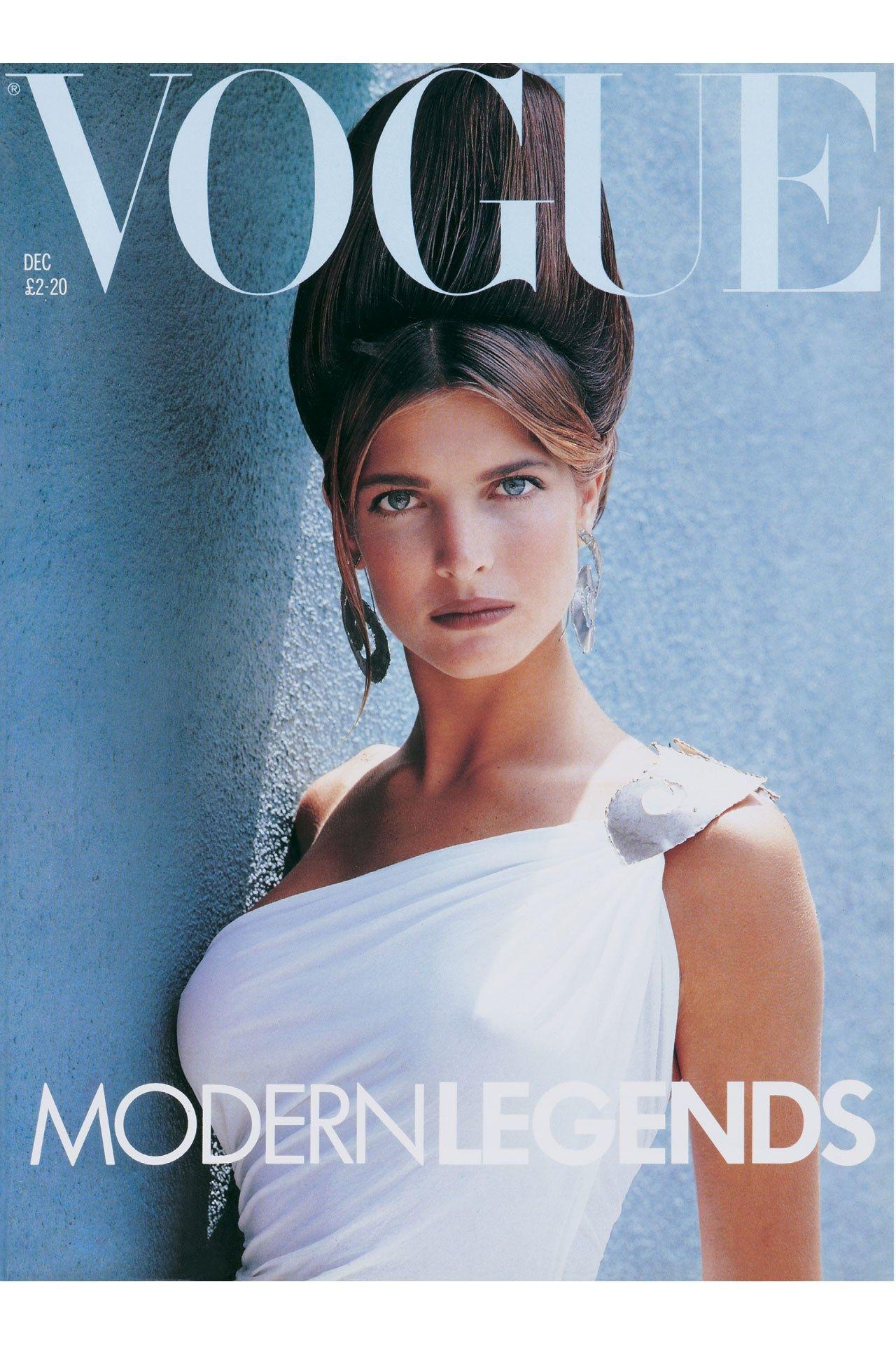 Vogue Magazine | Stephanie seymour, Fashion magazine cover ...