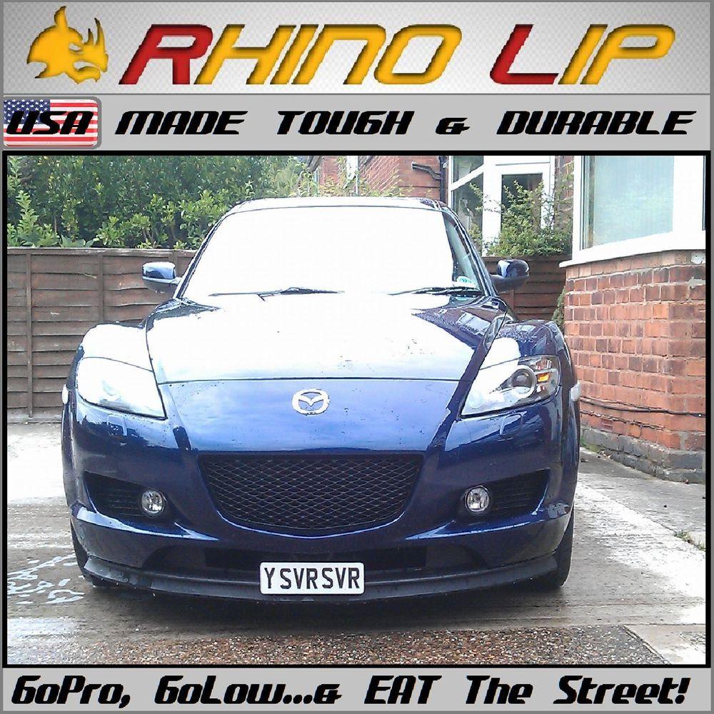 Rhino Lip Low Bumper Guard Chin Lip Splitter Spoiler For Volkswagen VW