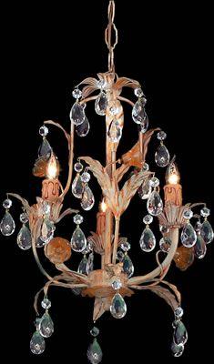 Paris Flea Crystal 13 Chandelier 178 00 Chandelier Chandelier Art Copper Chandelier