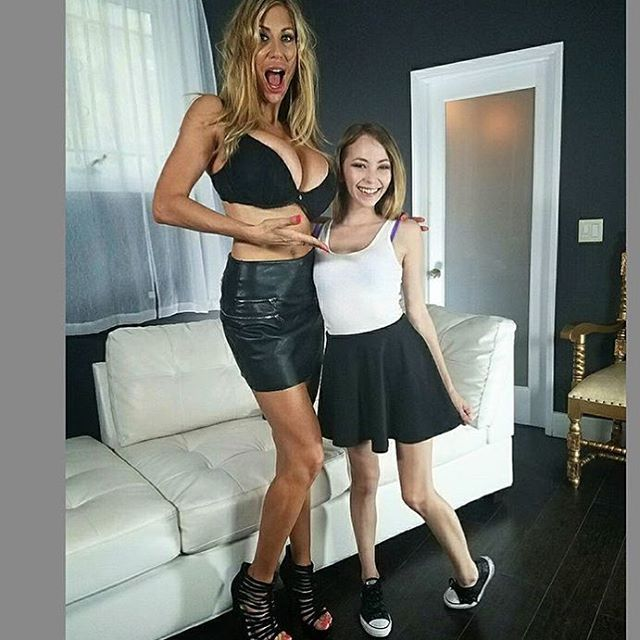 Tall Puma Swede With Petite Angel Smalls Pumaswede Angelsmalls