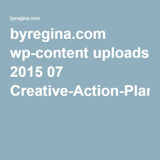 byregina wp-content uploads 2015 07 Creative-Action-Planpdf - action plan in pdf