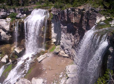 Twin Falls-Paulina Creek Falls