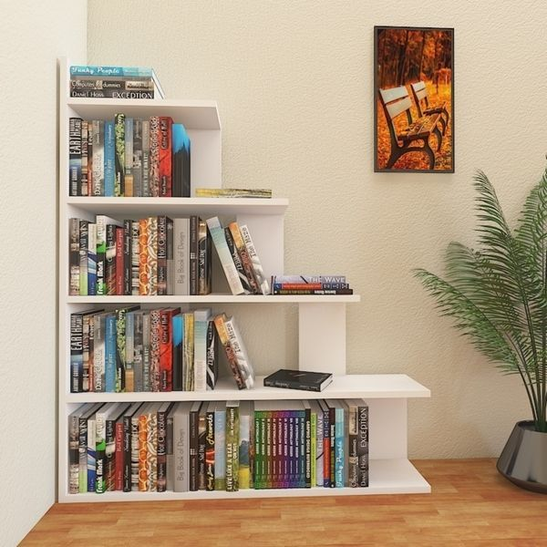 """Online Furniture Free Shipping: Shop Decorotika Echo 47"""" Accent Ladder Bookcase 5-Tier"""