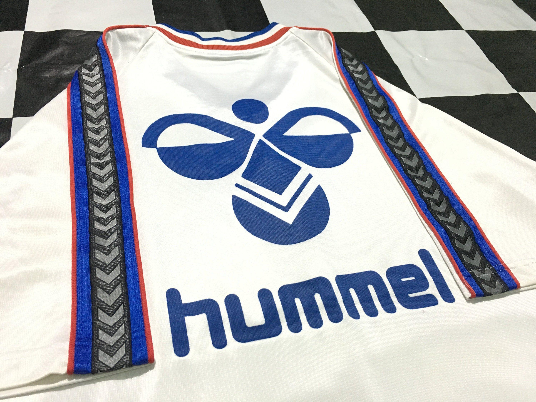 Vintage Hummel football jersey t shirt big logo Size L