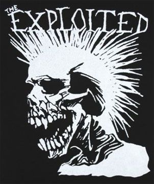 High School T Shirt The Exploited A Great Song Is Dogs Of War Punk S Not Dead Punk Bands Logos Band Logos Punk Bands