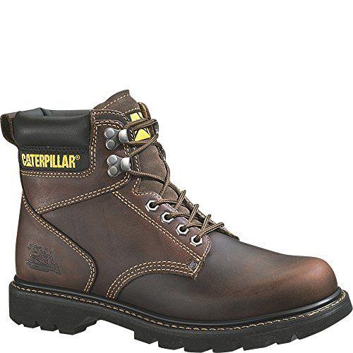 Caterpillar Mens 2nd Shift 6 Plain Soft-Toe Work Boot