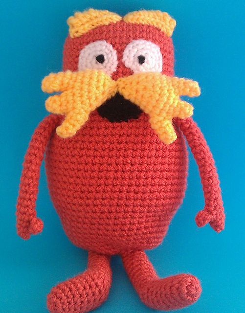 The Lorax - crochet | Lorax | Pinterest