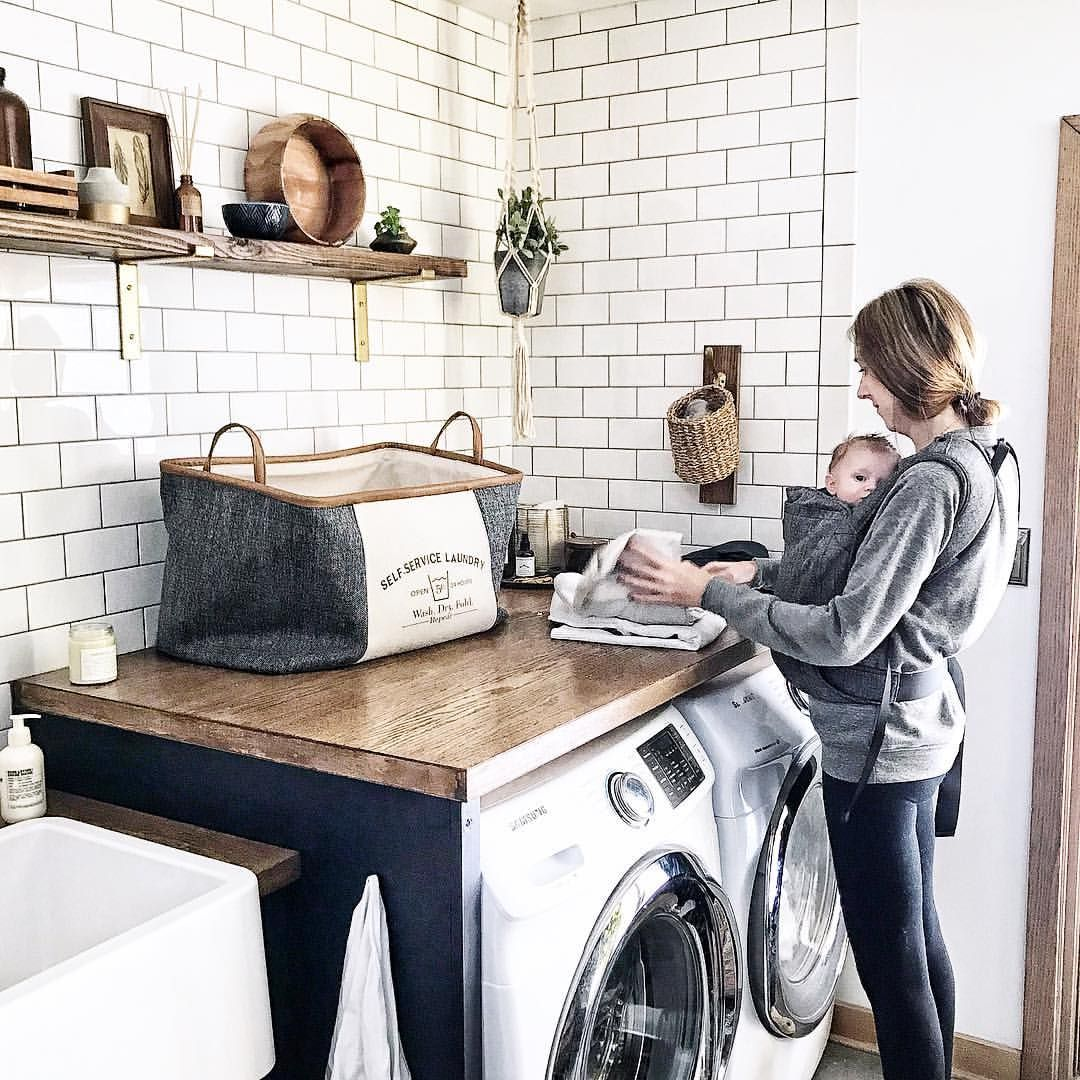 @brepurposed | Laundry, Laundry room, Spanish bungalow