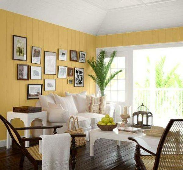 Wandfarben-modern-Interior-Design wohnen Pinterest - wohnzimmer modern streichen