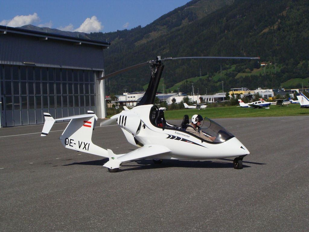 Arrow-copter gyrocopter with open canopy. & Arrow-copter gyrocopter with open canopy. | Gyroplane Fanatic ...