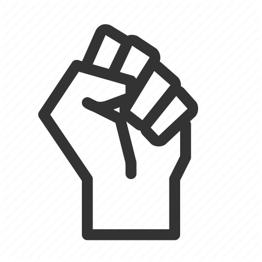 Fist Power Protest Resist Icon Download On Iconfinder Icon Icon Company Fist