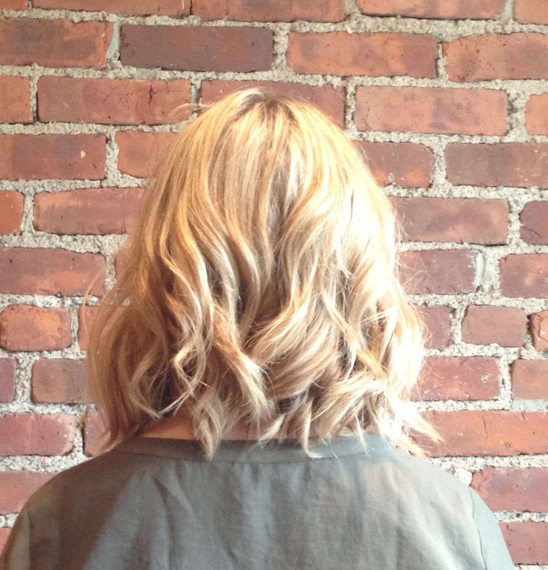 Long bob Love the curl Hairstyles Pinterest