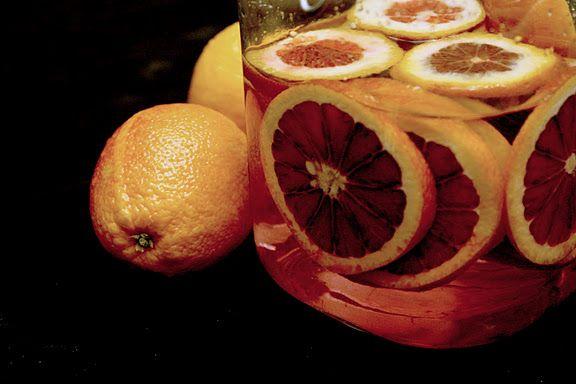 Blood Orange Infused Vodka