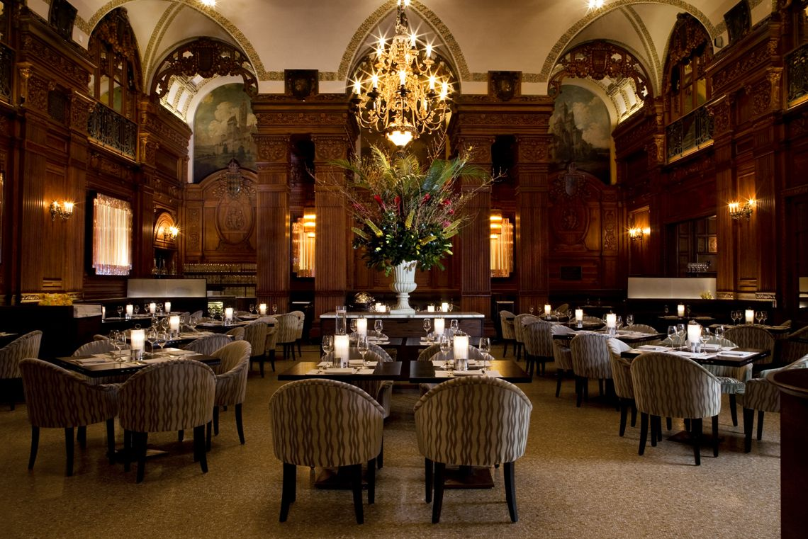 The Oak Room Plaza Hotel New York Design In Conjunction With The Office Of Thierry W Despont Plaza Hotel Nyc Hotels Nyc Real Estate