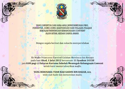 Kad Jemputan Projects To Try Event Projects