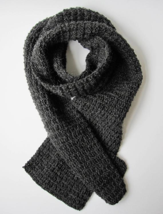 Free Knitting Pattern Long scarf PDF-pattern Knit scarf pattern AnaValenArt  Instant Download PDF Lon 484bc5a9d9a